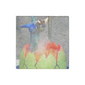 Dragon Hatching Stone Magnet