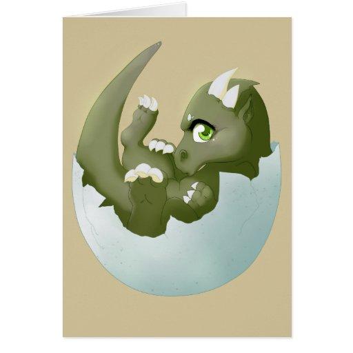Dragon hatchling card