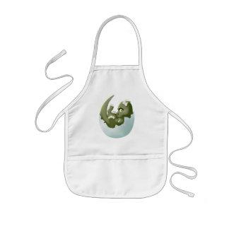 Dragon hatchling kids' apron