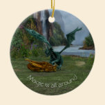 Dragon Hatchlings Ceramic Ornament