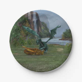 Dragon Hatchlings Paper Plate