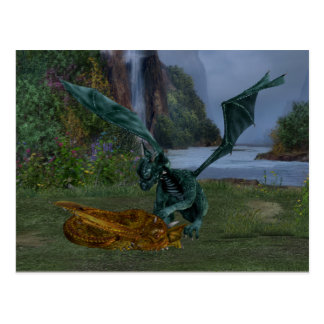 Dragon Hatchlings Postcard