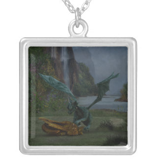 Dragon Hatchlings Silver Plated Necklace