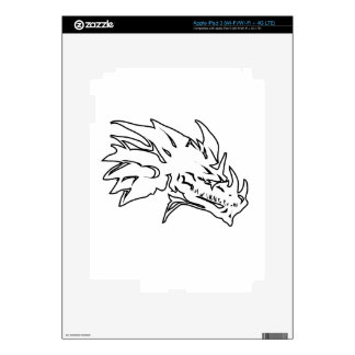 dragon head-10.png iPad 3 decals