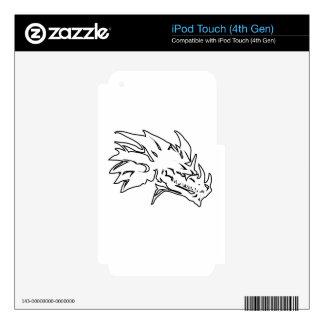 dragón head-10.png iPod touch 4G skin