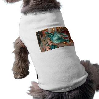 dragon head carousel ride fair image dog tshirt