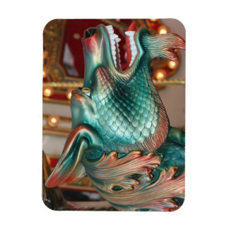 dragon head carousel ride fair image magnet