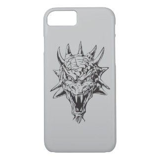Dragon Head on Silver iPhone 7 Case
