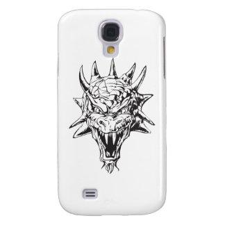 Dragon Head on White Galaxy S4 Cover