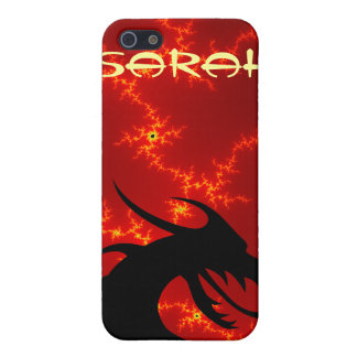 Dragon head red cover for iPhone SE/5/5s
