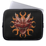 Dragon Head - Red Laptop Computer Sleeve