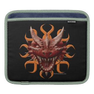 Dragon Head - Red Sleeve For iPads