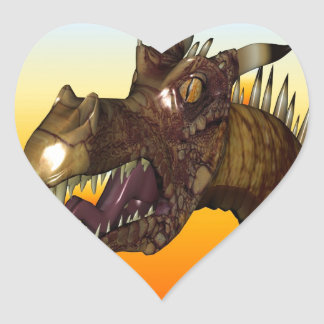 Dragon Head Stickers