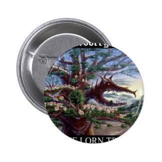 Dragon Head T Bk Pinback Button