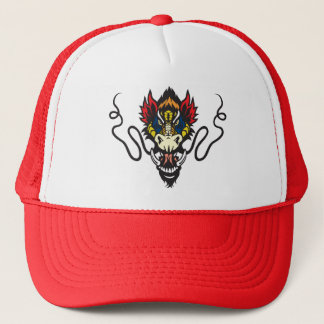 dragon head trucker hat