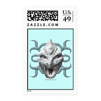 Dragon Head - White Stamps