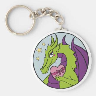 Dragon Heart Keychain