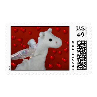 Dragon Heart Postage Stamp