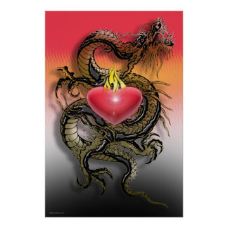 Dragon Heart Poster