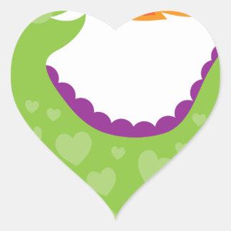 Dragon Heart Sticker