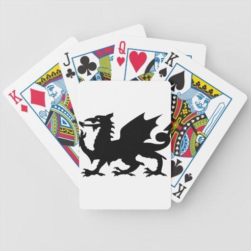 Dragon Heraldry Bicycle Playing Cards