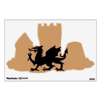 Dragon Heraldry Wall Sticker