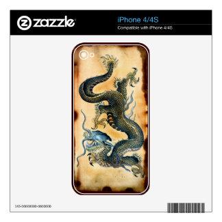 Dragon Historic Asian Fantasy Art iPhone 4 Skin