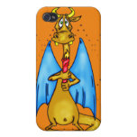 Dragon Holding Candle iPhone 4/4S Case