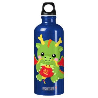 Dragon Holding Lantern Water Bottle
