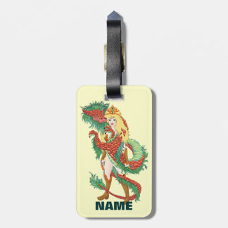 Dragon Hored Tag For Luggage