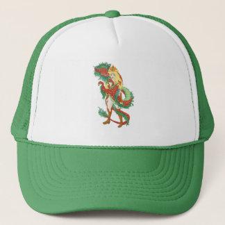 Dragon Hored Trucker Hat