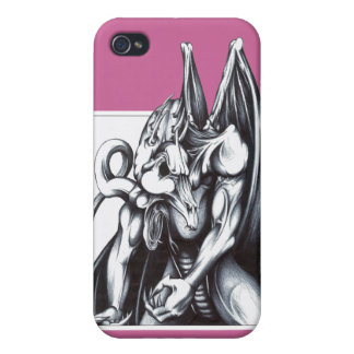 Dragon hunched iPhone 4 cases