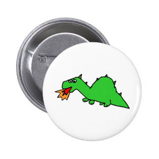 Dragon Image 34 Pinback Button