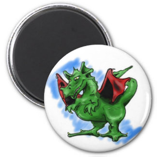 Dragón Imán Redondo 5 Cm