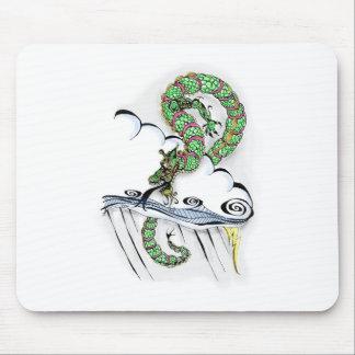 Dragón imperial alfombrilla de ratones