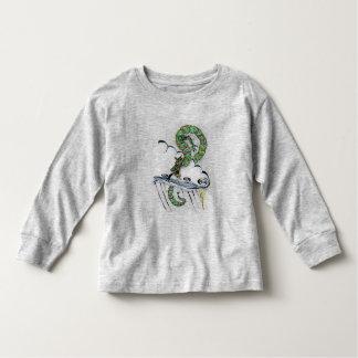 Dragón imperial playera de bebé