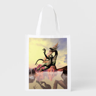 Dragón impresionante bolsa para la compra