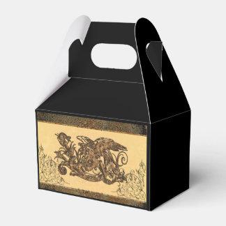 Dragón impresionante cajas para detalles de boda