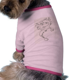 Dragon in a Teapot Dog Shirt