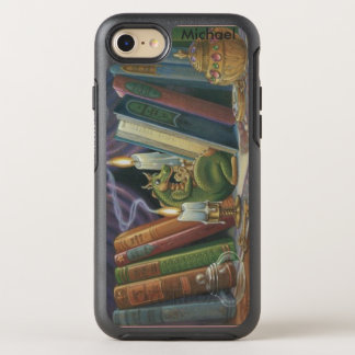 Dragon in Library OtterBox Symmetry iPhone 7 Case