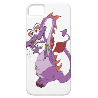 dragon in love with belly navel piercing iPhone SE/5/5s case