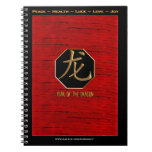 Dragon In The New Year Spiral Notebooks