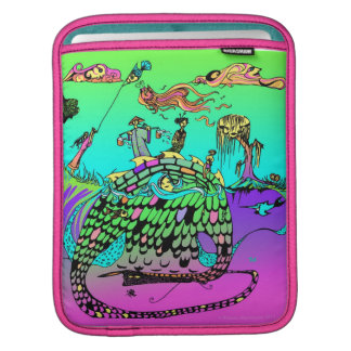 Dragon in the Sea iPad Sleeve