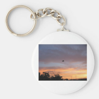 Dragon in the Sky Key Chain
