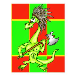 "Dragón indio folleto 8.5"" x 11"""