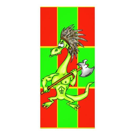 Dragón indio tarjeta publicitaria personalizada