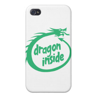 Dragon Inside iPhone 4/4S Cases