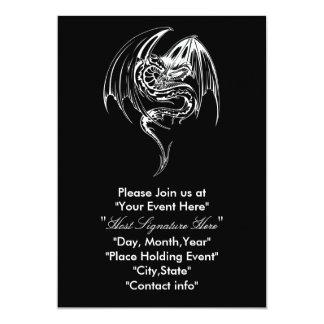 Dragon inventation card