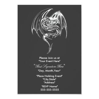 """Dragon invitation 5"""" x 7"""" invitation card"""