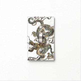 Dragón japonés - cambie la placa 1 cubiertas para interruptor